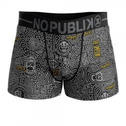 Boxer Homme Nopublik Simpson Abstract