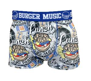 boxer homme twinday motif burger