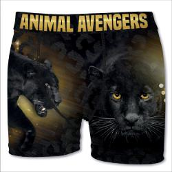 Boxer Homme   Animal Avengers Panthere