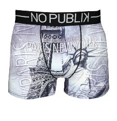 No Publik Boxer motif France VS Usa Bis