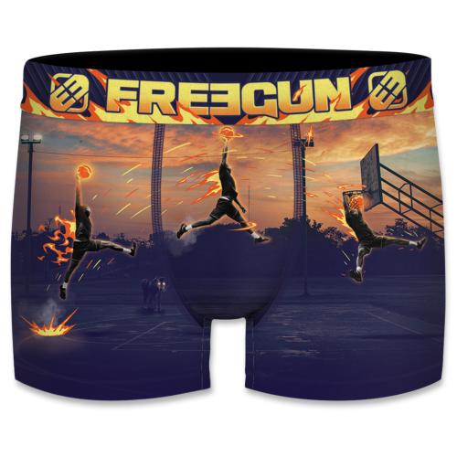 Boxer Fantaisie Freegun Basket fire