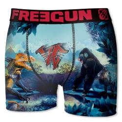 Boxer Fantaisie Freegun Dino VS Gorille
