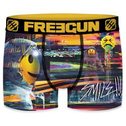 Boxer Fantaisie Freegun Smiley Cosmos