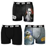 Pack 3 Boxers STARWARS Motif BB-8