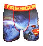 boxer fantaisie freegun motif superman