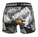 Boxer Airness Fantaisie Motif Basket orange