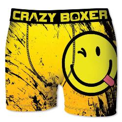 Boxer Homme CRAZYBOXER diable smiley's