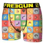Boxer Fantaisie Freegun motif Smileys icons