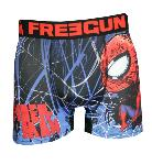 Boxer Fantaisie Freegun motif Spiderman tag