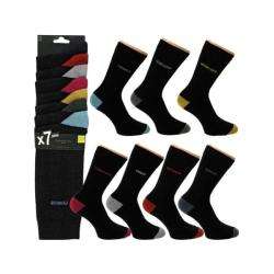 7 Paires de chaussettes TWINDAY COLOR