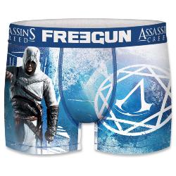 Boxer Fantaisie Freegun Assassin creed bleu