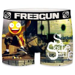 Boxer Fantaisie Freegun Smiley Skate