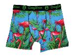 Boxer Homme CRAZYBOXER Flamant Rose