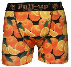 Boxer Fullup Fantaise motif Orange