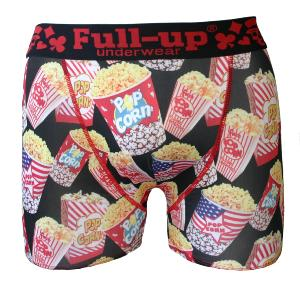 boxer full-up motif popcorn