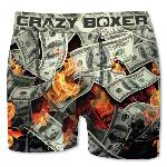 Boxer Homme CRAZYBOXER Dollars fire
