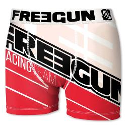 Boxer Fantaisie Freegun racing rouge