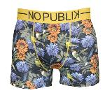 Boxer NOPUBLIK motif flowers birds
