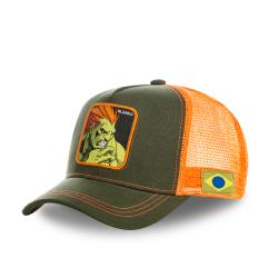 Casquette blanka CAPSLAB BY  STREET FIGHTER