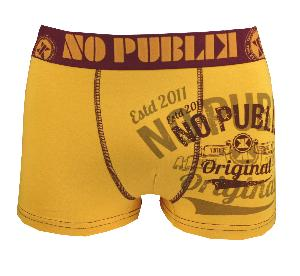 Boxer NOPUBLIK motif original orange